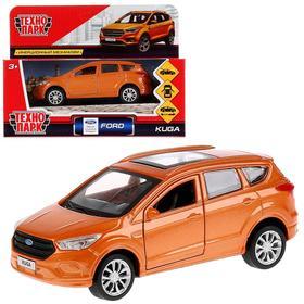 Машина металлическая инерционная Ford Kuga, цвет золотой, 12 см