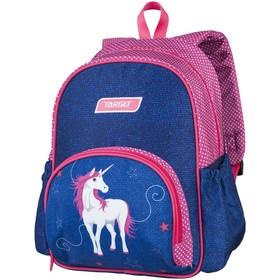 """Рюкзачок детский Target 35*28*12 дев. """"Белая лошадь"""", синий/розовый"""