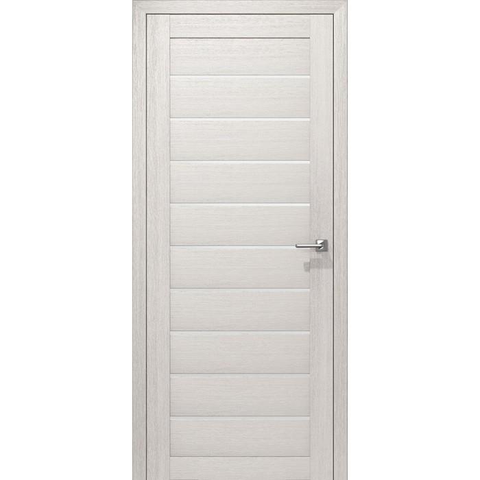 Комплект двери Альфа Снежная лиственница 3D 2000х600