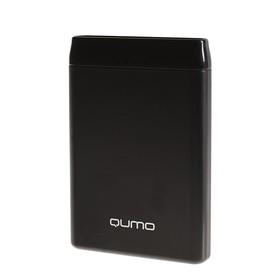 Внешний аккумулятор Qumo PowerAid, 5000 мАч, 2 USB, 2 А, USB/Type C, черный Ош