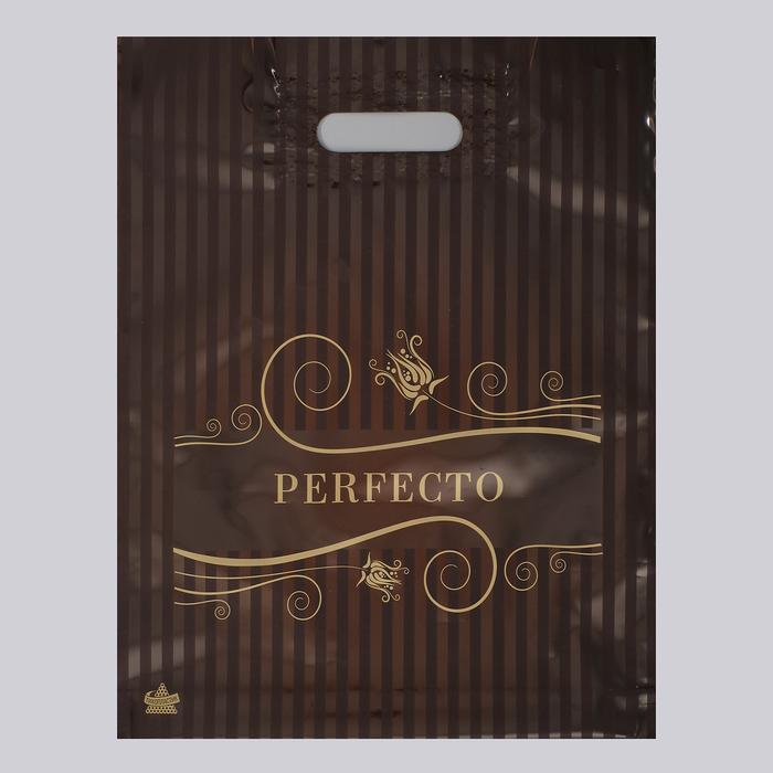 """Пакет """"Перфекто Модерн"""", полиэтиленовый с вырубной ручкой, 30 х 37 см, 90 мкм - фото 308983630"""