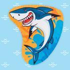 Полотенце пляжное «Акула», 130 × 150 см, 100 % п/э