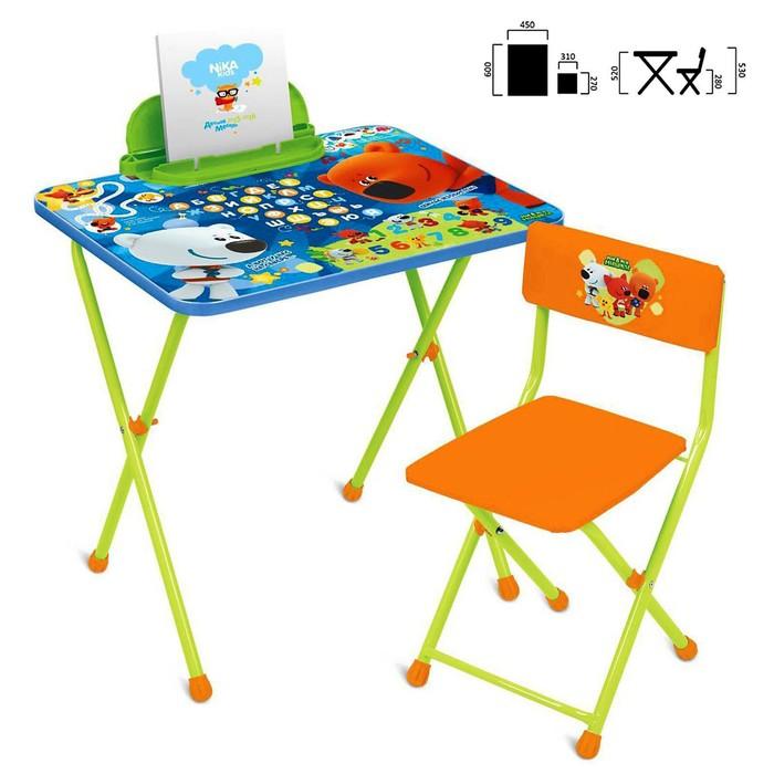 Набор детской мебели «Ми-ми-мишки»: стол, стул, цвет стула МИКС