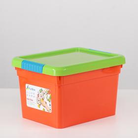 Контейнер для хранения с крышкой FunBox Kid's Box, 5 л, 25×20×16 см, цвет МИКС