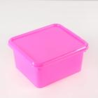 Контейнер для хранения 2 л Funcolor, цвет розовый