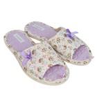 Тапочки женские Domino арт. D-EL083, цвет фиолетовый, размер 38/39