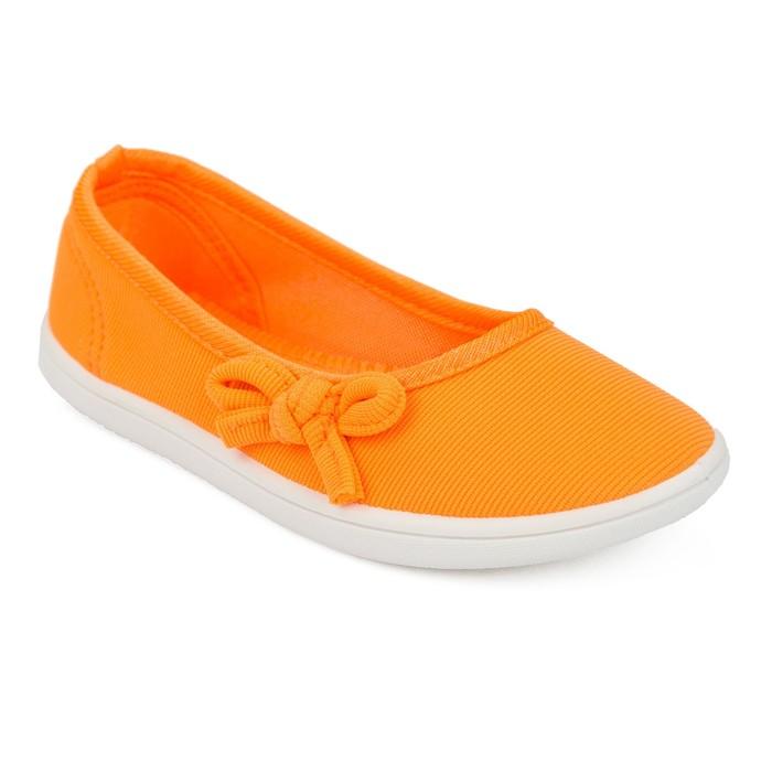 Полуботинки детские арт. BKK40588-14 (оранжевый) (р. 27)