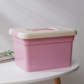 Контейнер для хранения с крышкой FunBox Kid's Box, 5 л, 26×20×16 см, цвет МИКС Ош