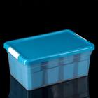 Контейнер для хранения 10 л Standart, 12 вставок, 2 лотка, цвет МИКС