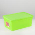 Контейнер для хранения 10 л Funcolor, цвет салатовый