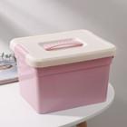 Контейнер для хранения 5 л Kid's Box, с ручкой, 6 вставок, лоток, цвет МИКС