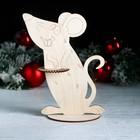 Салфетница «Крыса улыбается», 23,5×18,5×0,3 см