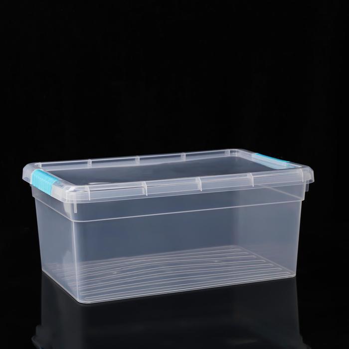 Контейнер для хранения с крышкой FunBox Standart, 10 л, 39×28×16 см, цвет МИКС - фото 308334627