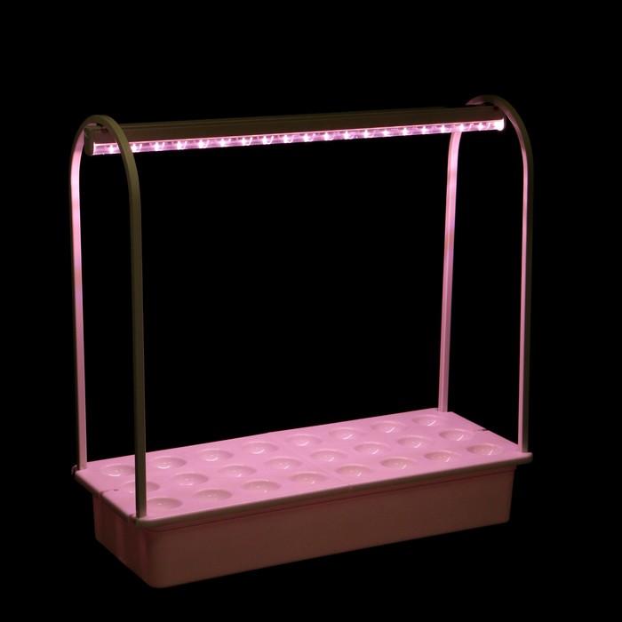 Светильник светодиодный для растений Uniel, 10 Вт, IP20, 540 мм, набор для гидропоники
