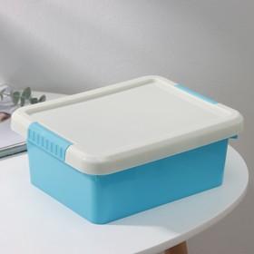Контейнер для хранения с крышкой Kid's Box, 3 л, 25×20×10 см, цвет МИКС