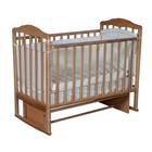 Кроватка детская Helen 2, автостенка, универсальный маятник, цвет бук