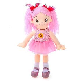 Мягкая кукла, 35 см. воспроизводит стихи и песенки на стихи А. Барто