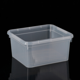 Контейнер для хранения FunBox Basic, 2 л, 18,5×16×9 см, цвет прозрачный