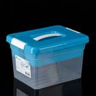 Контейнер для хранения 5 л Standart, с ручкой, лоток, цвет МИКС