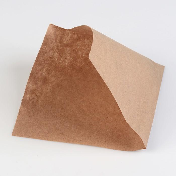 Пакет бумажный фасовочный, «Уголок», крафт, 16 х 17 см, набор 3000 шт.