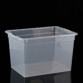 Контейнер для хранения FunBox Basic, 20 л, 39×28×24,5 см, цвет прозрачный
