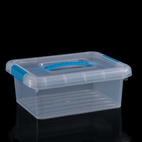 Контейнер для хранения с крышкой FunBox Standart, 3 л, 25×20×10 см, цвет МИКС