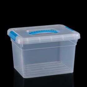 Контейнер для хранения с крышкой FunBox Standart, 5 л, 25×20×16 см, цвет МИКС