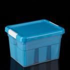 Контейнер для хранения 5 л Standart, 6 вставок, лоток-органайзер, цвет МИКС