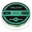 Леска капрон LIZARD зеленая d=0,35 мм, 100 м, 12,3 кг