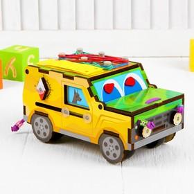 Развивающая игра для детей «Бизи-машинка»