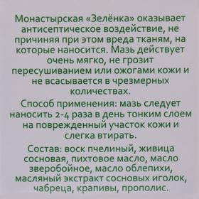 Зелёнка монастырская, 10 мл. - фото 7446498