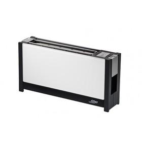 Тостер Ritter VOLCANO5 white, стеклянная передняя панель, настройка степени поджаривания, белый   43