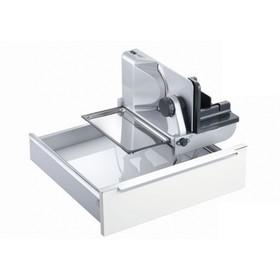 Ломтерезка Ritter AES62SR, 110 Вт, толщина нарезки до 14 мм, серебристая