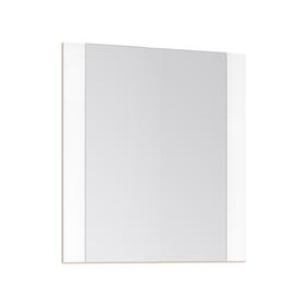 Зеркало Монако 60*70, Осина бел/бел лакобель