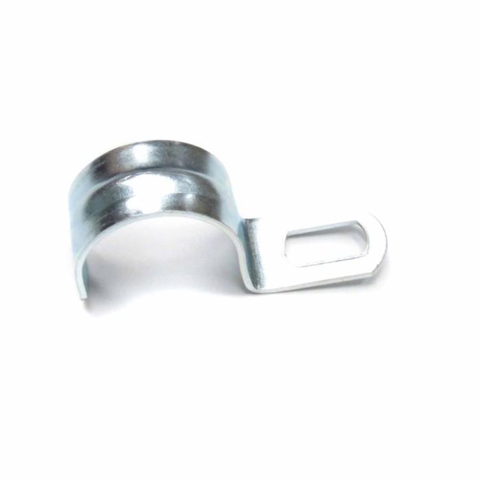 Скоба металлическая однолапковая Uplast, d=10-11 мм, 100 шт.