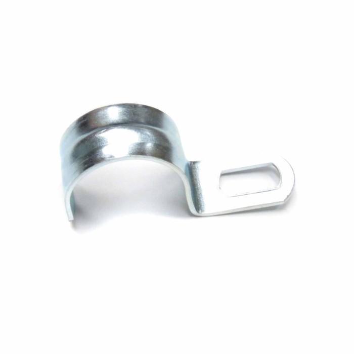 Скоба металлическая однолапковая Uplast, d=14-15 мм, 100 шт.