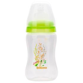 Бутылочка BABOO с силиконовой соской, узкая, 150 мл, Summer, от 0 месяцев