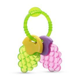 Прорезыватель для зубов BABOO с охлаждающим наполнителем «Ягоды», цвет МИКС