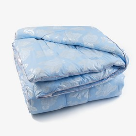 Одеяло «Лебяжий пух», 145х205 см, цвет МИКС