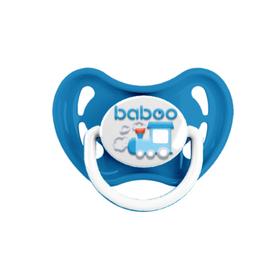 Пустышка BABOO круглая, Transport, от 0 месяцев