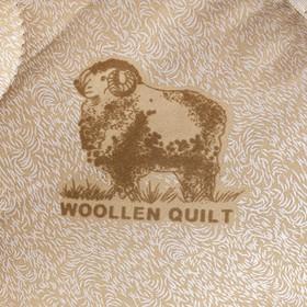 Одеяло Овечка 145х205 см, 300г/м2, чехол ТИК пуходержащий - фото 62079