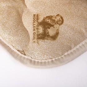 Одеяло Овечка 145х205 см, 300г/м2, чехол ТИК пуходержащий - фото 62080