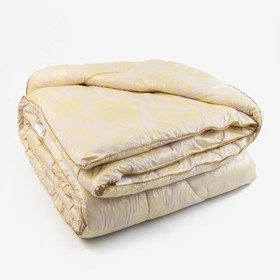Одеяло Верблюд 175х205 см, 300г/м2, чехол Глоссатин стеганный