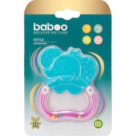 Погремушка BABOO «Слоник», от 0 месяцев