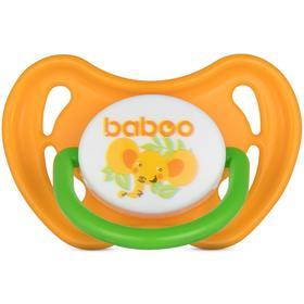 Пустышка BABOO симметричная Safari, от 0 месяцев