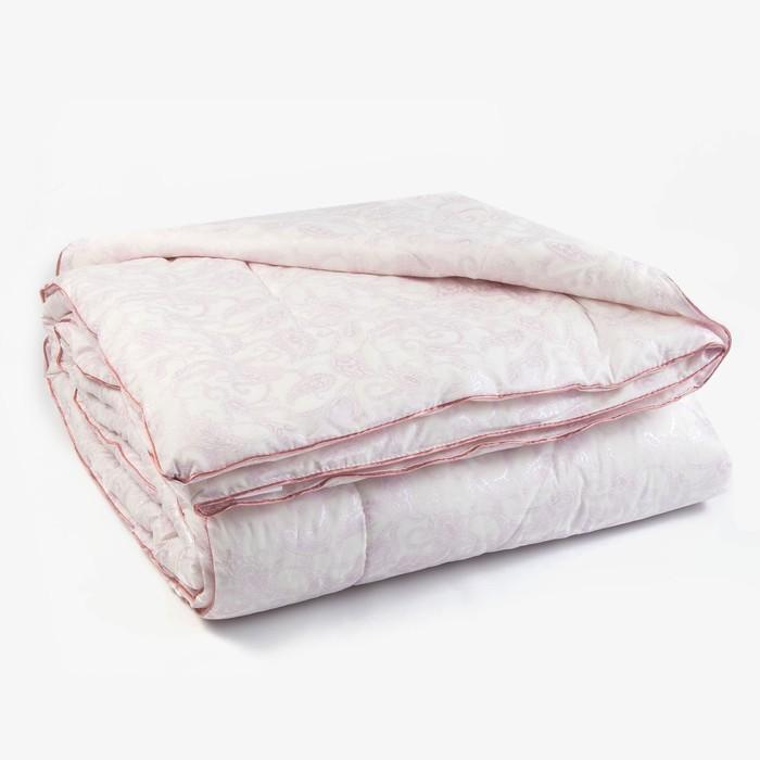 Одеяло Лебяжий пух 145х205 см, 150г/м2, чехол Глоссатин стеганный