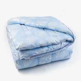 Одеяло Лебяжий пух 145х205 см, 300г/м2, чехол ТИК пуходержащий