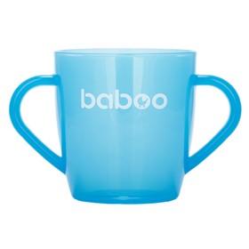 Чашка BABOO 200 мл, от 12 месяцев, цвет МИКС