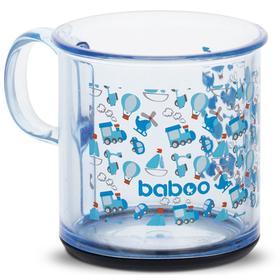 Чашка BABOO 170 мл, с антискользящим дном Transport, от 12 месяцев
