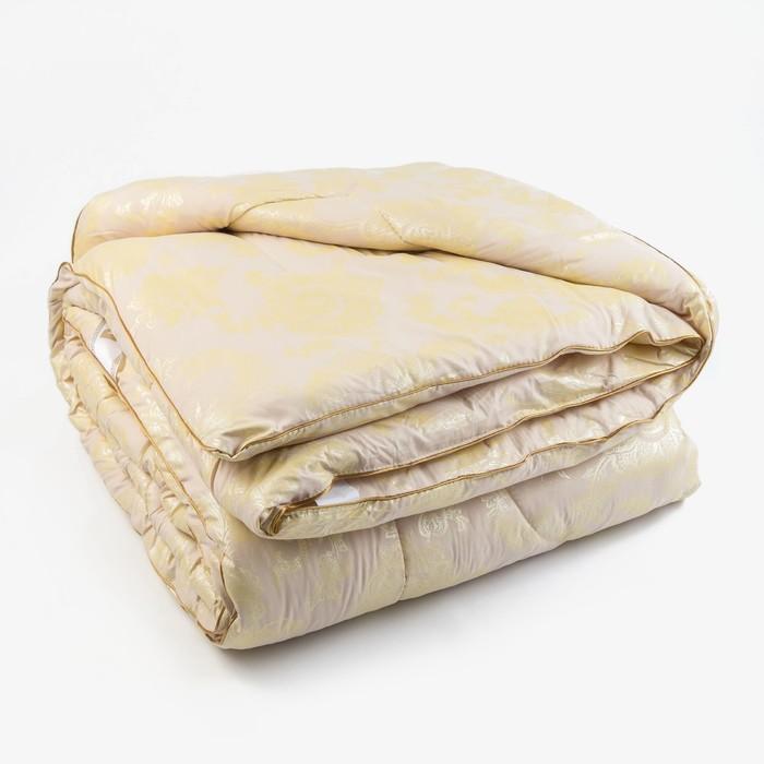 Одеяло Верблюд 145х205 см, 300г/м2, чехол Глоссатин стеганный